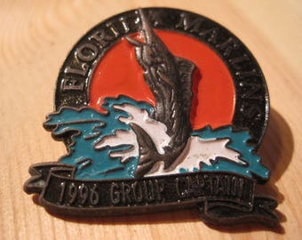 Vintage Florida Marlins 1996 Baseball Collectable Lapel/ Hat Pin