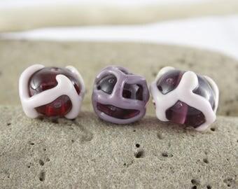 Glass Lampwork beads set