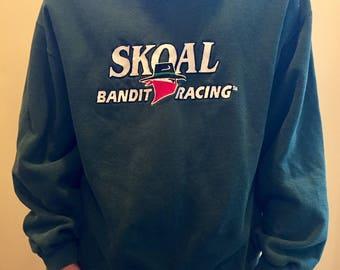 Vintage SKOAL BANDIT NASCAR  sweatshirt // mens size L