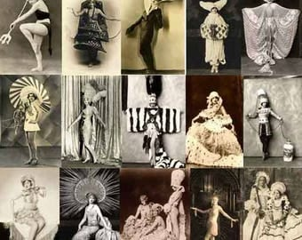 25 RESTORED VINTAGE IMAGES Creative Costumes Download