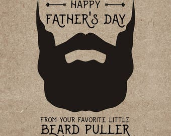 Father's Day Beard Puller