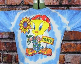 Tweety Bird Freeze New York 1994 Vintage T-Shirt