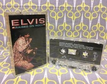 Raised on Rock by Elvis Presley Cassette Tape rock
