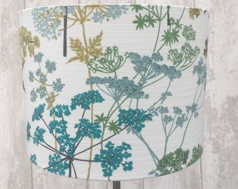 Hedgerow in Blue Wild Flora. Up to 45cm Diameter.