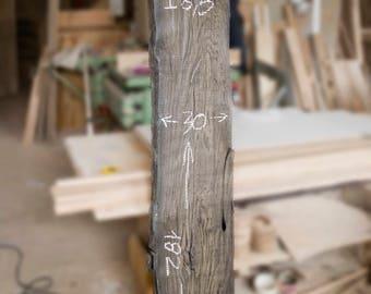 Bog Oak Slab – 6,5x30x182cm (2.6x12x71.6'')