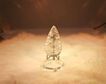 Quartz Crystal Spear Point # 936