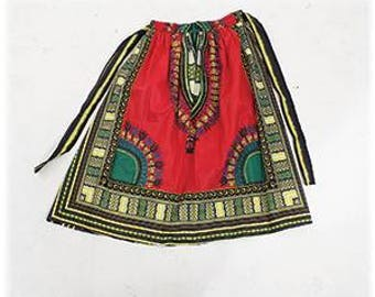 African Traditional Print Skirt
