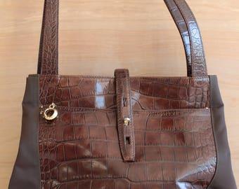 Giuseppe Negri Leather Handbag - Made in Italy