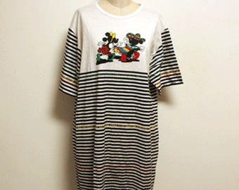 90s vintage Deadstock Mickey mouse  long tshirts Made in England
