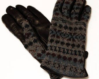 Chester jefferies wool leather gloves made in england