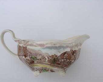 Johnson Brothers Creamer / Gravy Boat Olde English Countryside