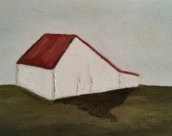 Barn - Oil Painting