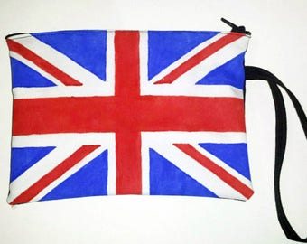 Union Jack Wristlet