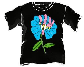 SMALL No Mas Flower T-Shirt pre-order