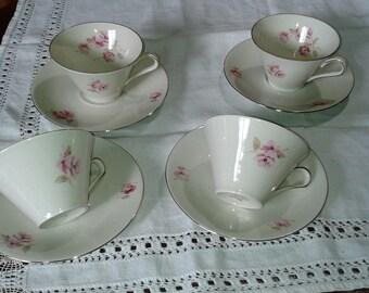 vintage Bavaria porcelain tea/coffee cups