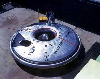Avrocar Flying Saucer. Print/Poster (4867)