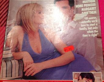 Vintage hello magazine 1999.