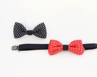 Set of two (2) Switchables bow ties