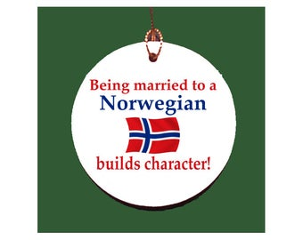 Norwegian Character Builder Porcelain Ornament
