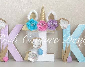 Mermaid Letters/ Unicorn Letters/ Unicorn Mermaid Letters/ Unicorn Mermaid Party/ Unicorn ONE letters/ Mermaid ONE letters/ Unicorn Party