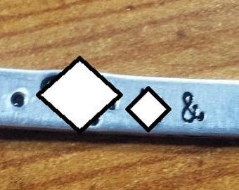 Destash Metal Stamps - Please Read Descriptions and Sizes