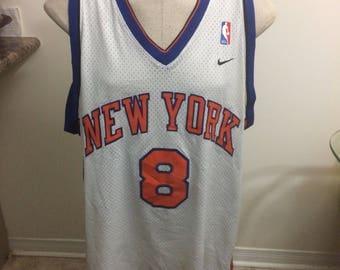 ... Vintage New York knicks Latrell sprewell jersey 2 xl nike CHAMPION Mens Vintage  Latrell Sprewell 15 Golden ... b1ee4827d