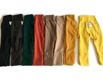 Baby boy pants - cloth diaper pants - monster bunz - grow with me - maxaloones - baby boy