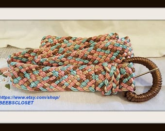 Multi Color Mesh belt
