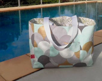 Beach Bag Scales - Beach Tote - Summer Bag