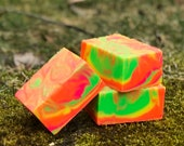 Groovy Grapefruit Handmade Soap with Aloe and Olive Oil
