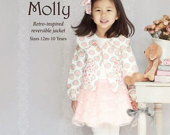 Pattern Molly jacket for romantic girls