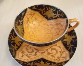 beautiful Mocha Cup 1950 without brand