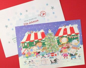Market Advent Calendar And Envelope