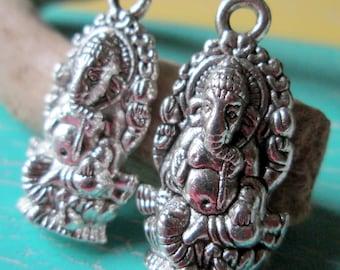 2 followers * Ganesha * elephant God * charm * Yoga * Lord Ganesh * pendants * ethnic * Asian * jewelry