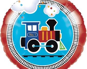 My Choo Choo Train Balloon / train theme / train party / railroad party / train/ railroad /