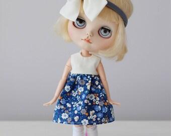 Floral dress | for blythe