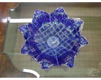 Blue Murano Table Vase