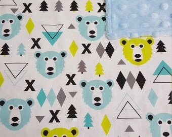 Bear Baby Blanket - Perfect Baby Shower Gift