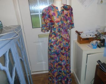 vintge hosteess gown