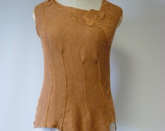 Special price, siena roasted linen top, L size. Perfect for Summer.