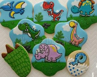 Dinosaur Cookies (8)