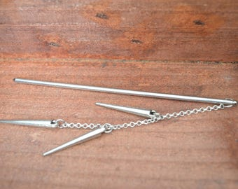 Bookmark - sting hair spikes and silver plated
