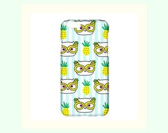 Pineapple iPhone Case-Fruit iPhone Cover-Cat iPhone Case-iPhone Case-Phone Case-Tropical iPhone Case-Cute