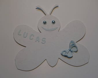 Do - birth announcement - Butterfly Theme