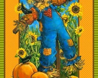 Scarecrow Panel by Northcott Fabrics