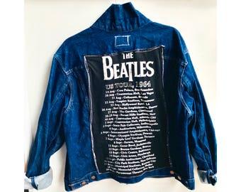 The Beatles Jean Levis Jacket - Size L