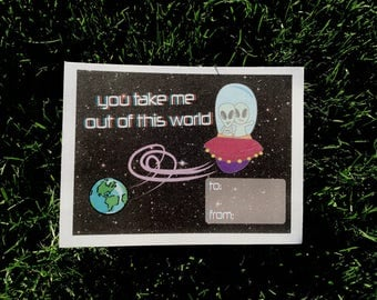You Take Me Out of This World Card