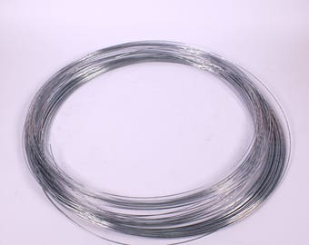 Galvanised Modelling Wire 1mm x 80m Non-Rusting Soft Steel Wire Roll