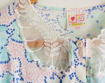 Vintage nachtjapon   vintage nightwear   vintage dress   70s