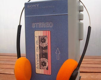 Toy Guardians of the Galaxy - Star-Lord Peter Quill - Sony Walkman TPS-L2 prop, with headphones.